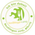FoodBloggerCamp Reutlingen 2015 - Badge 120 Pixel