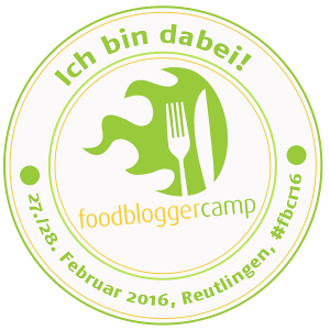 FoodBloggerCamp Reutlingen 2016 - Badge 300 Pixel