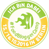 FoodBloggerCamp Berlin 2016 - Badge 100 Pixel
