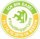 FoodBloggerCamp Berlin 2016 - Badge 140 Pixel